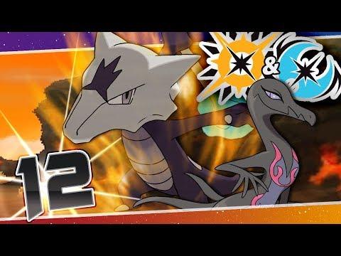 Pokémon Ultra Sun And Moon - Episode 12   Totem Marowak Trial!?