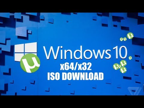 Como baixar Windows 10 x64 & x32 Torrent ISO [ATUALIZADO 2018] WINDOWS 7  LOADER