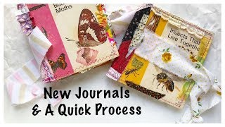 Etsy Update: Journal With Me: Junk Journal Kit