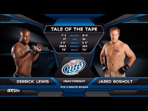 Fight of the Week: Derrick Lewis and Jared Rosholt Battle for the Heavyweight Strap