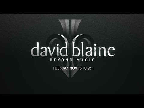 DAVID BLAINE: BEYOND MAGIC - 11.15.16 - ABC