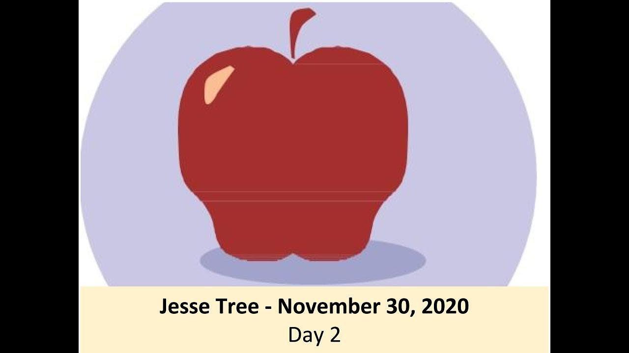 Jesse Tree - November 30, 2020 - Day 2