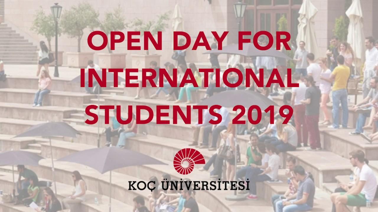 Koç University Open Day for International Students 2019