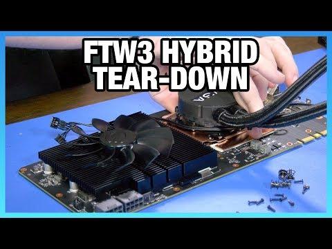 EVGA 1080 Ti FTW3 Hybrid Tear-Down