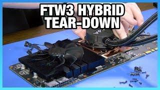 EVGA 1080 Ti FTW3 Hybrid Tear-Down - Vloggest