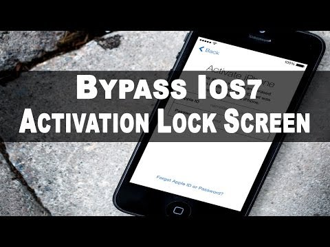 TUTORIAL: How To Bypass ios7 Activation Screen (100% working fix): In this video I will be showing you how to bypass the ios7 activation screen, this is for only educational purposes. Many people have been having the problem that they can't enable voice over and their were no contacts to block, this video will show you exactly how to do it!  Gaming Channel: www.youtube.com/MohsGamingHD