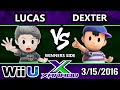 S@X 141 - Pink Fresh (Lucas) Vs. Dexter (Ness) SSB4 Tournament - Smash Wii U - Smash 4