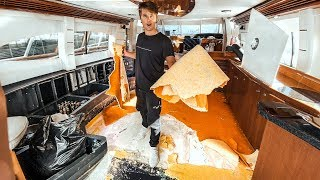 TEARING THE YACHT APART! | VLOG⁴ 39