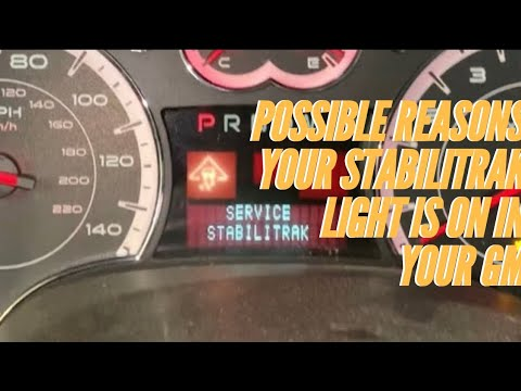Possible Reason Why Stabilitrak Light Is On. Chevy Equinox, GMC Terrain, Saturn Vue,Pontiac Torrent