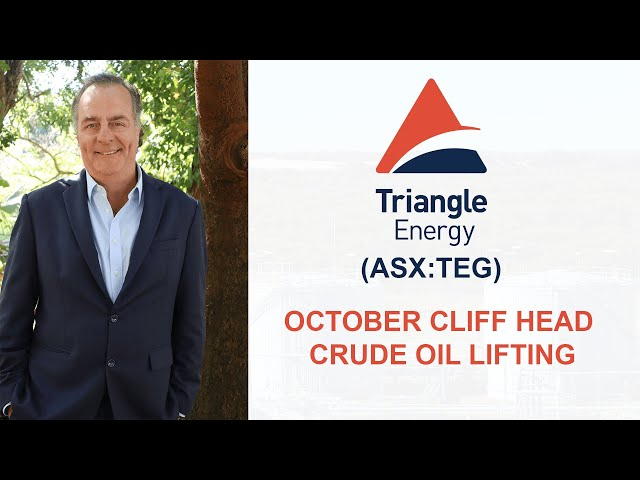 Cliff Head Joint Venture - October Cliff Head Crude Oil Lifting