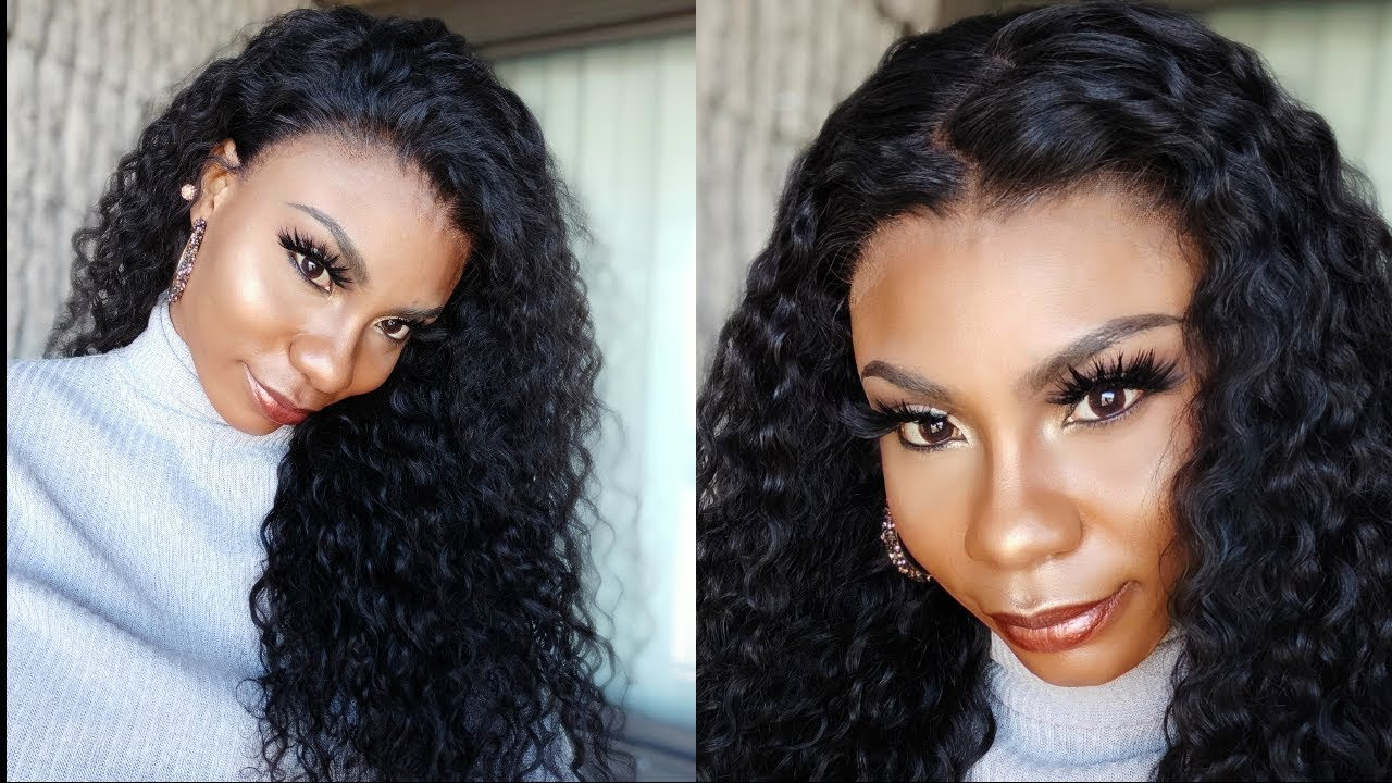 Lace Melt |No Baby Hair |13x6 Lacefront Water Wave Wig Ft. Abby Hair Aliexpress
