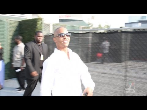 T.I. making his grand entrance to BET Awards 2013