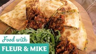 Quick Mexican Quesadillas | Fleur & Mike