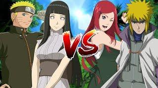 Naruto, Hinata VS Minato, Kushina - Naruto Song Đấu