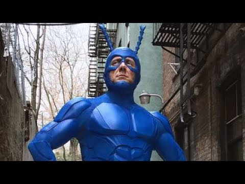 San Diego Comic Con 2017 - The Tick By Amazon Prime Is Coming