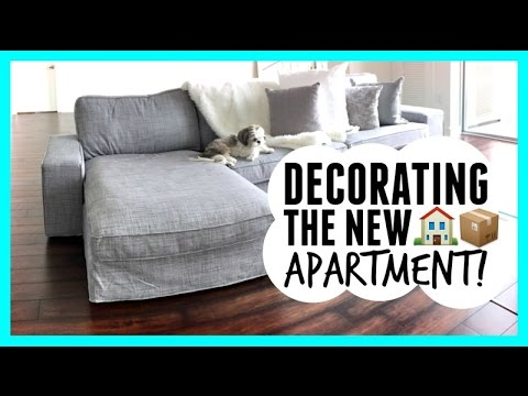 DECORATING THE NEW APARTMENT!!   YouTube