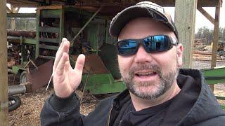Mechanical Hydraulic Firewood Mill With John Deere Diesel! Learn How it Works!!