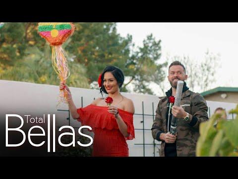 Nikki and Artem host a gender reveal party: Total Bellas, June 11, 2020