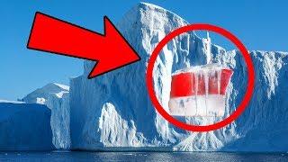 Antarktika'da Donmuş Halde Bulunan 10 Tuhaf Şey