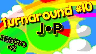 [Agario Team Mode] Turnaround #10, Sergio Pico is back, determined and awesome !