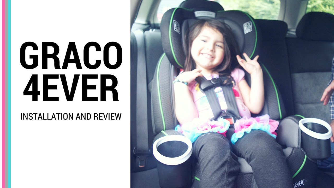 HOW TO INSTALL GRACO 4EVER CAR SEAT ALL 4 POSITION