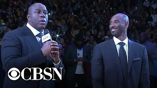 Magic Johnson describes Kobe Bryant's deep love for the Lakers