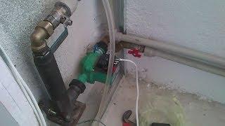 электродный котёл в системе отопления с газовым котлом. Настройка теплоносителя