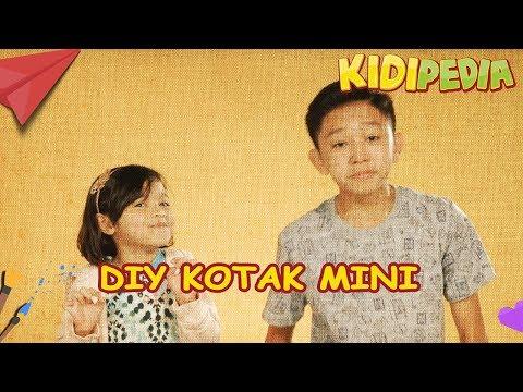 Tak Sangka DIY Kotak Mini Fikry Kiki & Ara Aziz memang MUDAH! | Kidipedia Ep32