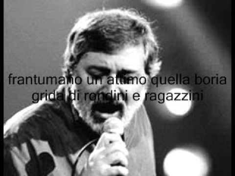 Lettera - Francesco Guccini , con testo in scorrimento