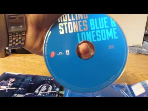 Rolling Stones Blue and Lonesome Unboxing