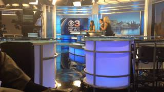 Behind The Scenes at CBS3