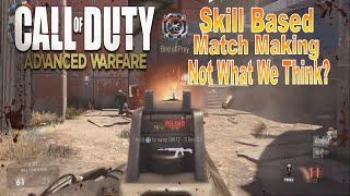 SKILL BASED MATCHMAKING - CALL OF DUTY: ADVANCED WARFARE | 17 KILLSTREAK!
