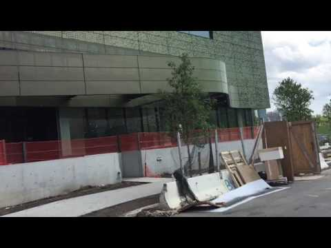 Take A Walk Around Roosevelt Island Cornell Tech Contruction Site Days Before Opening To Public
