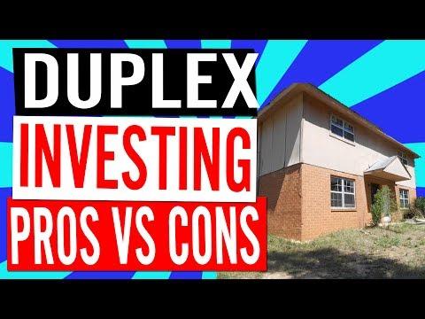 Duplex Investing: Pros & Cons