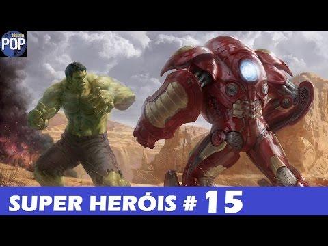 mundo dos super heróis #15