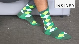 Socks That Stay Up All Day