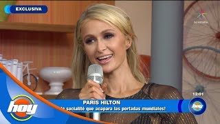 ¡Entrevista exclusiva con Paris Hilton! | Hoy