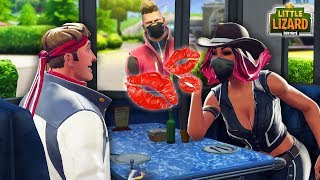 DRIFT CRASHES CALAMITY'S DATE WITH DIRE!!! *NEW SEASON 6* - Fortnite Short Film