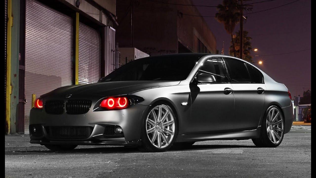 BMW 5 Series M Sport On Vossen Wheels