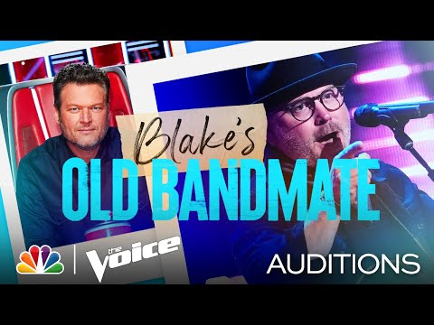 "Blake's Old Bandmate Pete Mroz on Blind Faith's ""Can't Find My Way Home"" - Voice Blind Auditions - The Voice"