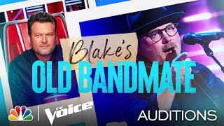 "Blake's Old Bandmate Pete Mroz on Blind Faith's ""Can't Find My Way Home"" - Voice Blind Auditions"