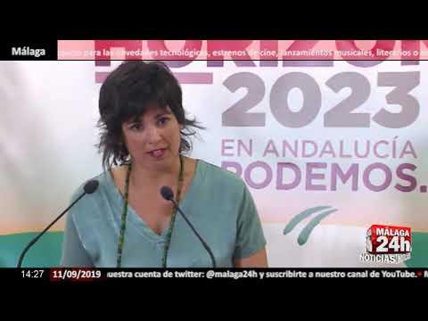 Noticia - Teresa Rodríguez no descarta que Podemos Andalucía concurra como Adelante