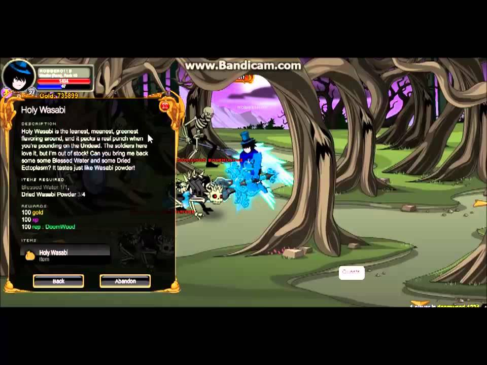 how to become a necromancer in aqw