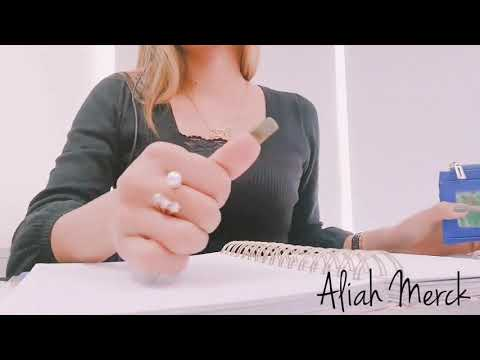 How Aliah Merck Does Things With Her Long Natural Nails (video 11)