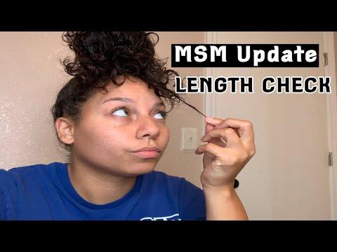 MSM Hair Growth Update!