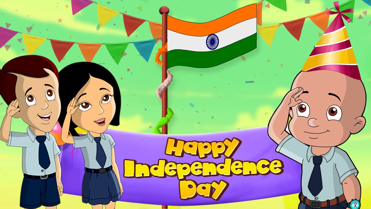 Mighty Raju - Independence Day Celebrations | Happy Independence Day | Cartoon for Kids in Hindi