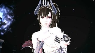 Vindictus]Succubus Queen phase 2 cut scene + passing Nightmare phase + break-off