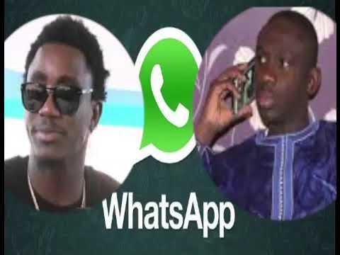 scandale pape diouf piégé sur whatsapp en train d'insulter wally seck