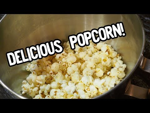 EJ Cooks: Popcorn Made with Clarified Butter