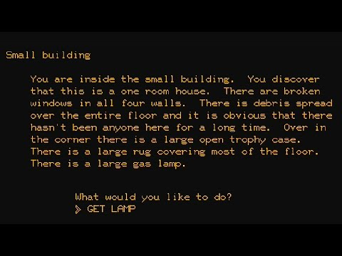 Gaming Culture: What ever happened with Text Adventure Games ? (Interactive Fiction)